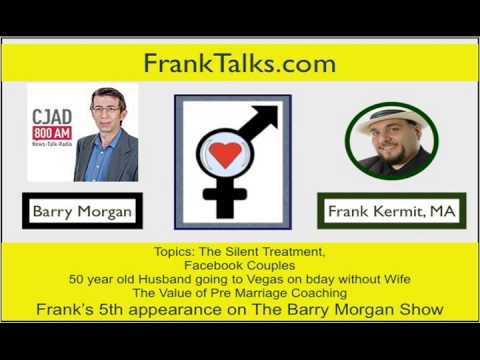 Date and Relationship Talks about Pre Marriage Coaching Counseling with Barry Morgan