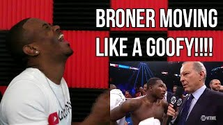 Broner vs Pacquiao Fight Trille REACTION   Broner Was ALL CAP!