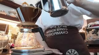 eng) 필터 커피, 콜롬비아 엘 프라도 워시드 핑크 …