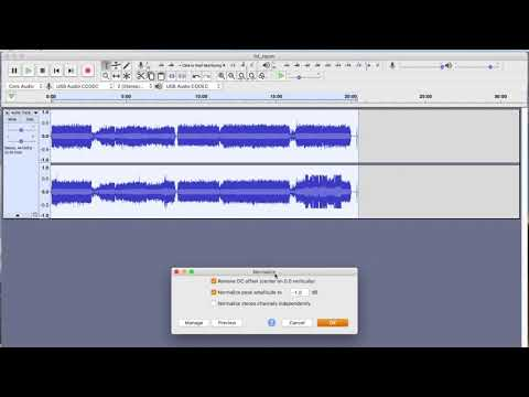 How To Transfer A Cassette Tape To MP3 On Your Computer Using Audacity.