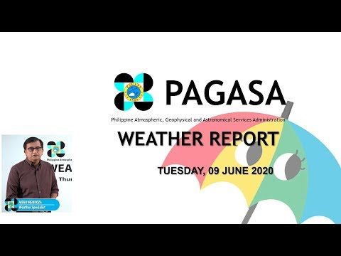 Public Weather Forecast Issued At 4:00 AM June 9, 2020