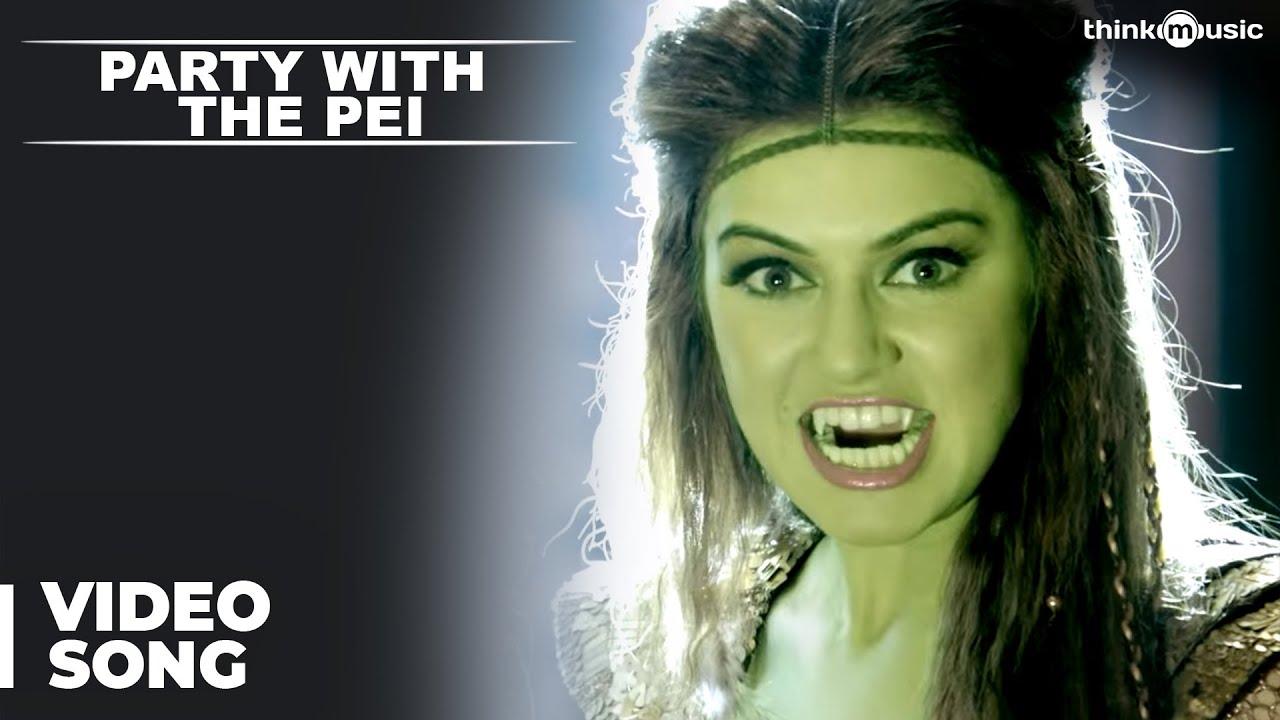 Party With The Pei Song Promo Video | Aranmanai 2 | Siddharth | Trisha | Hansika | Hiphop Tamizha
