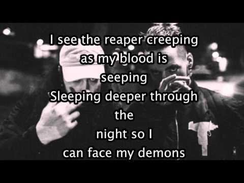 $UICIDEBOY$ - My Flaws Burn Through My Skin Like Demonic Flames From Hell (LYRICS)