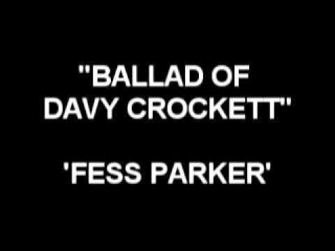 Ballad Of Davy Crockett - Fess Parker