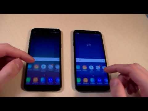 Samsung Galaxy J6 2018 Vs Samsung Galaxy A6 2018