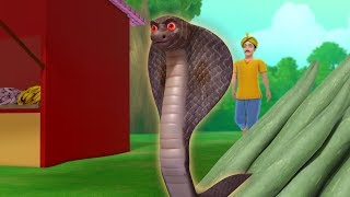 The Snake and the Priest Bengali Stories for Children   Infobells