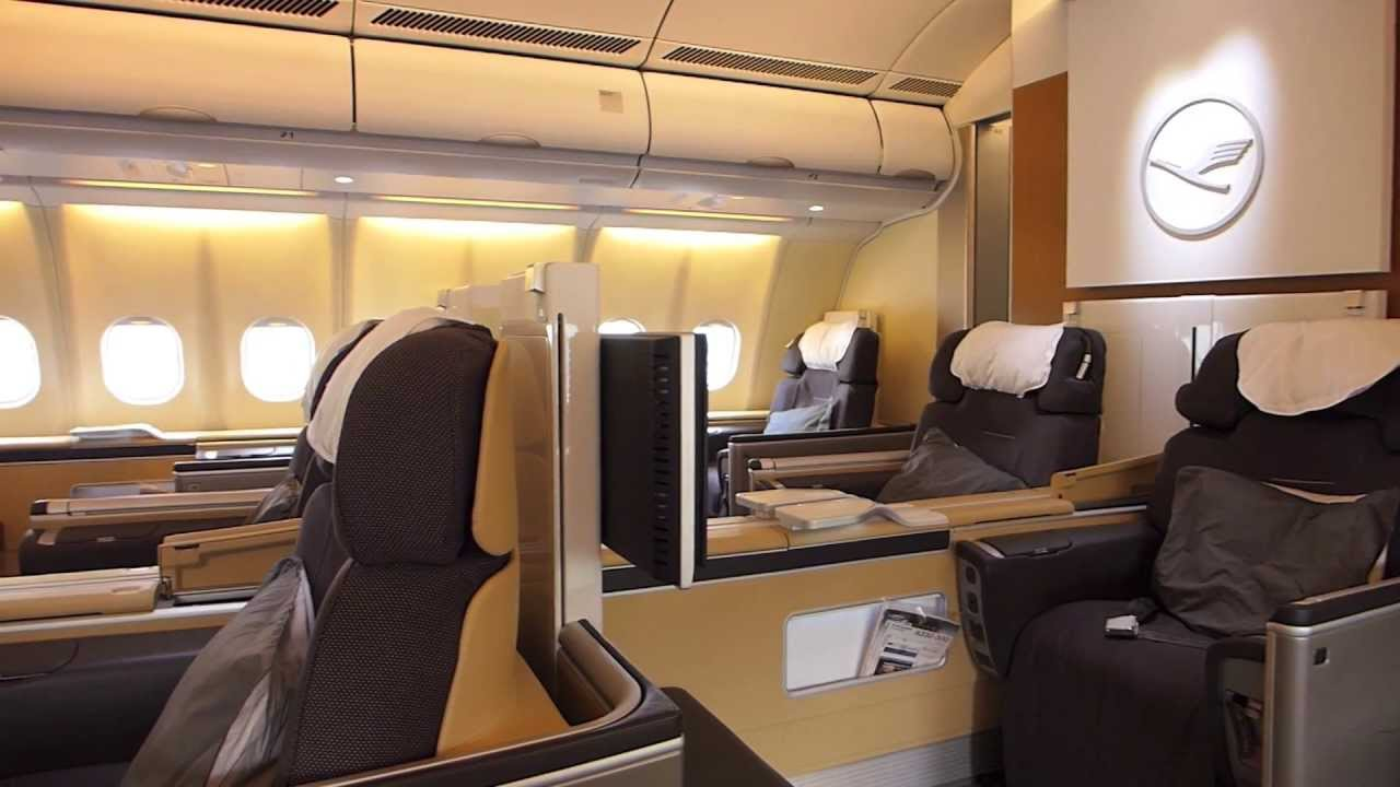 lufthansa lh477 yvr muc first class youtube. Black Bedroom Furniture Sets. Home Design Ideas
