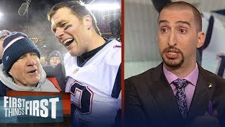 Nick Wright says coaching was key in the Patriots' OT win over the Chiefs | NFL | FIRST THINGS FIRST