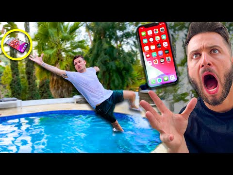 THE BEST 'CATCH YOUR PHONE' CHALLENGE... IS BACK!!