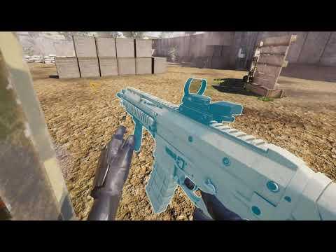 Zero Caliber VR - WMR Gameplay - Testing OpenVR Capture