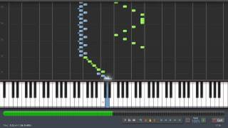 Rimsky Korsakov - Flight Of The Bumblebee - Piano Tutorial (Synthesia) + Sheet Music & MIDI