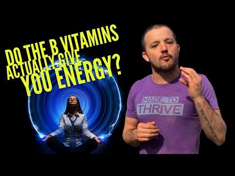 Do The B Vitamins Actually Give You Energy? | #AskMikeTheCaveman Part 321