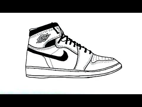 jordans shoes drawings easy. jordans shoes drawings easy