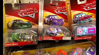 New Disney Cars 3 Toys Hunt - We FOUND Conrad Camber Blind Spot & Metallic Bobby Swift in San Diego