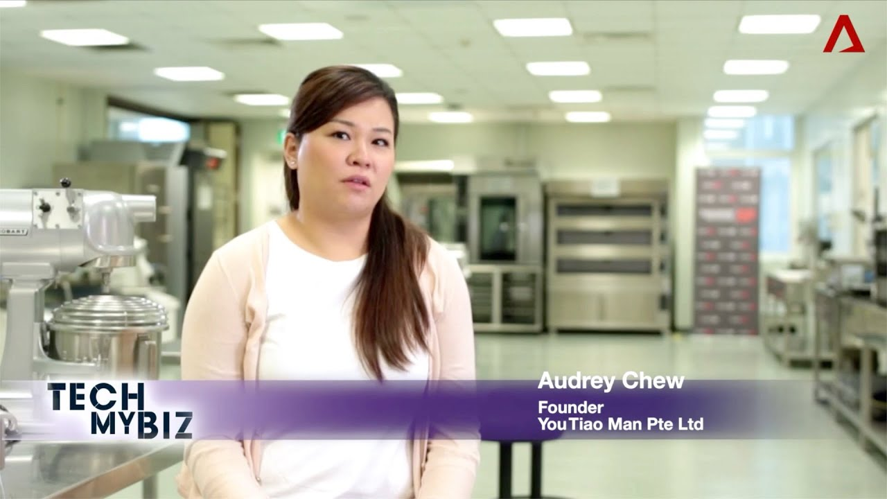 You Tiao Man - CNA Feature Tech My Biz (aired on March 18 2019)