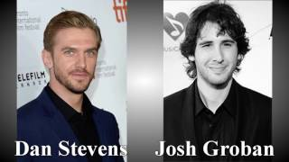 evermore dan stevens and josh groban comparison
