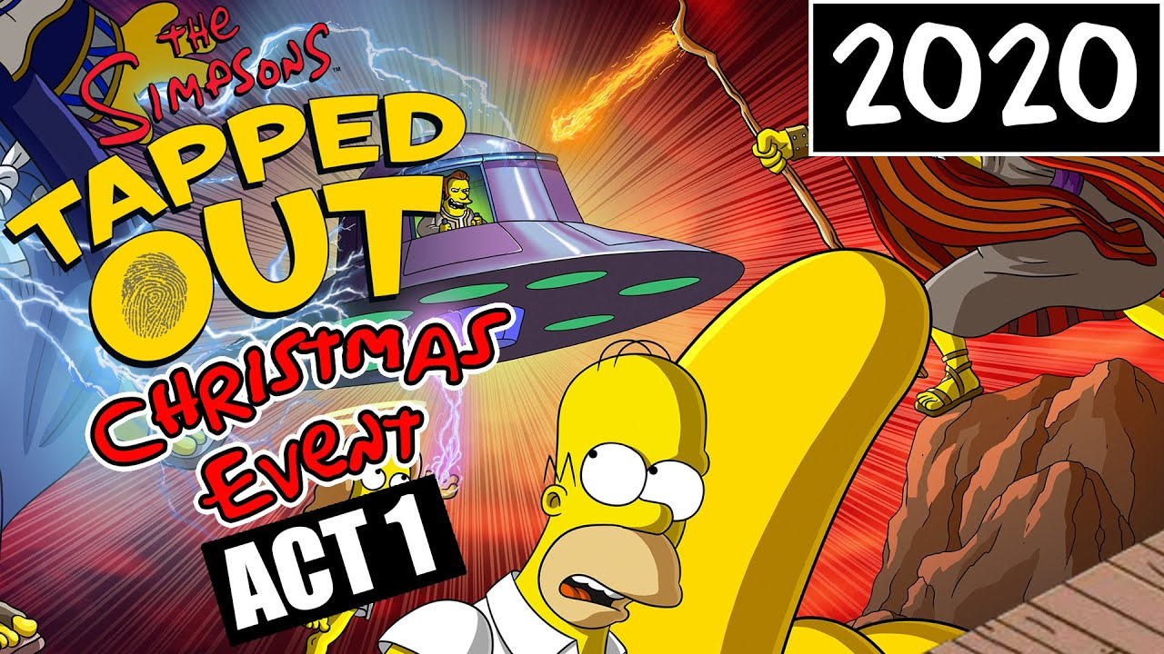 Simpsons Tapped Out Christmas 2021 The Simpsons Tapped Out Christmas Event 1 2020 Youtube