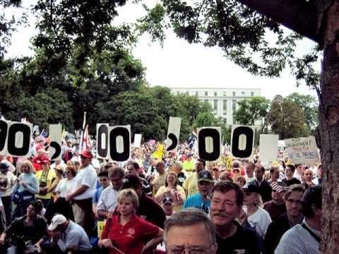 March On Washington - Tea Party, 9/12/09