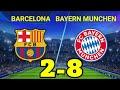 Hasil Liga Champions Tadi Malam Barcelona vs Bayern Munchen Terbaru Hasil Bola Malam Tadi