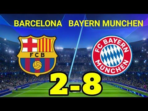 Download Hasil Liga Champions Tadi Malam Barcelona vs Bayern Munchen Terbaru Hasil Bola Malam Tadi