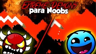 Si los EXTREME DEMONS fueran EASY (if was lvl 1) | Geometry Dash 2.1 | SoulsTRK