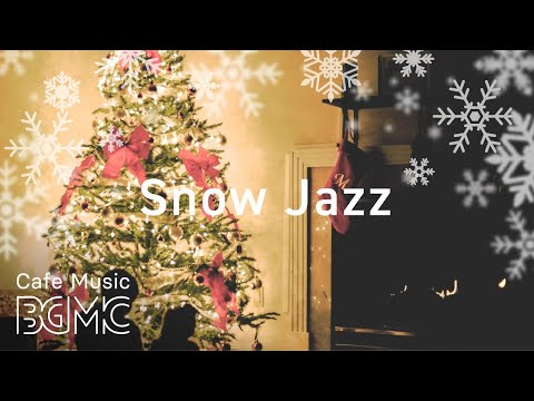 Snow Jazz Playlist - Smooth Winter Cafe Music Mix - Relaxing Jazz Music