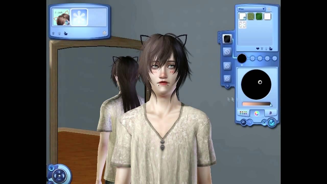 Sims 3 Creating a kawaii uke