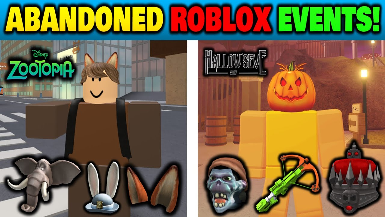 Looking For Working Prizes In Abandoned Roblox Events Youtube