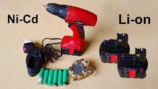 How to convert cordless drill