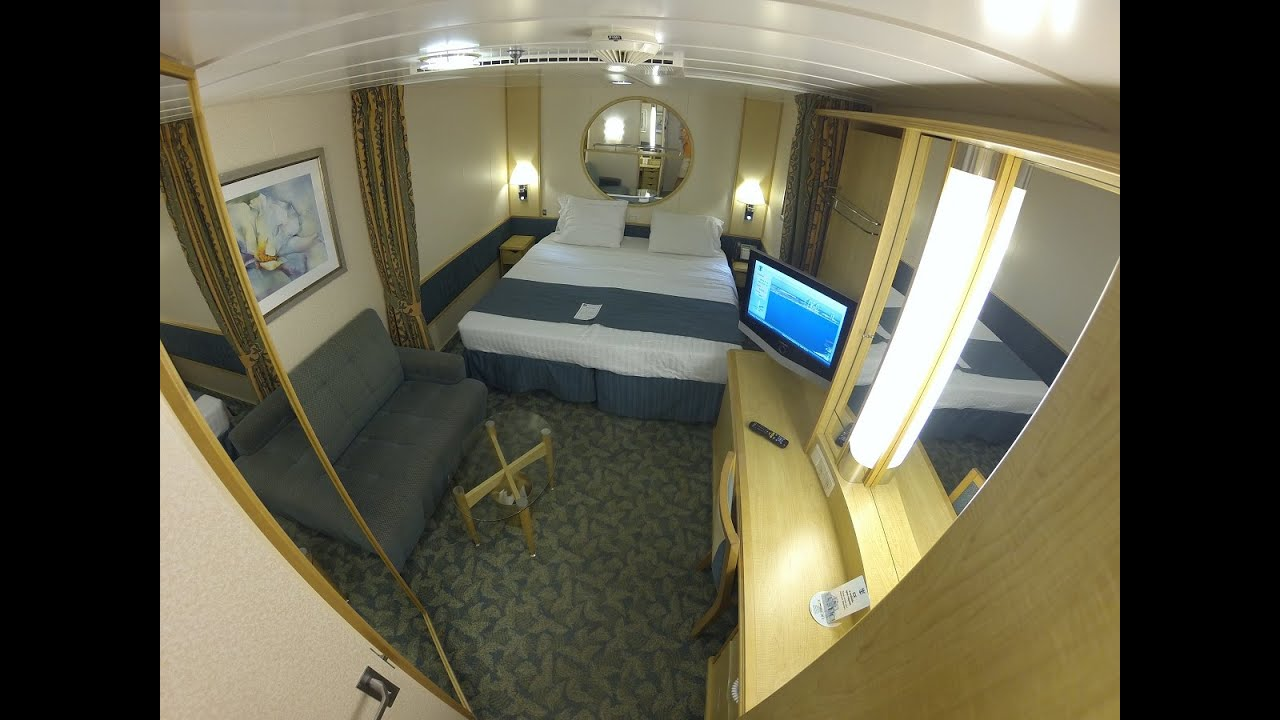 freedom of the seas inside stateroom tour 2015 9675 youtube