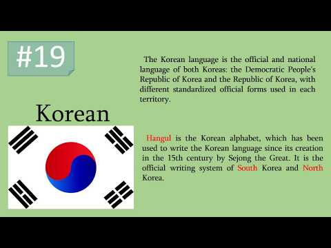 30 most spoken languages in the world- how they sound/language  compilation/interesting facts