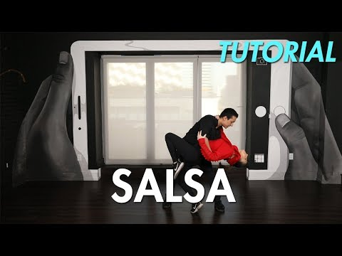 How to Salsa: Basic Dip  (Ballroom Dance Moves Tutorial) | MihranTV
