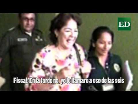 VIDEO: GRABACIÓN DEL AUDIO DE LA FISCAL DORIS RIVERO, ACUSADA DE CORRUPCIÓN