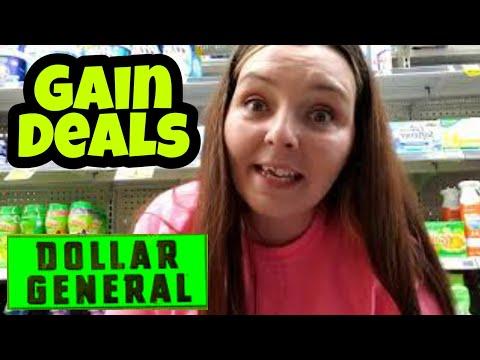 Saturday Gain Deals At Dollar General