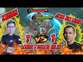 Zxuan 1 VS 1 JessNoLimit FANNY, LOSE = DELETE Mobile Legends !!