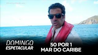 50 por 1: Álvaro Garnero navega em um iate de luxo pelo mar do Caribe