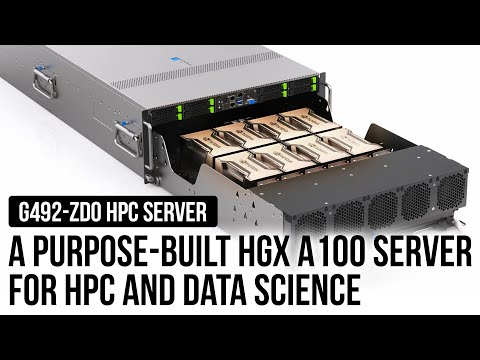 A Purpose-built HGX A100 Server for HPC and Data Science