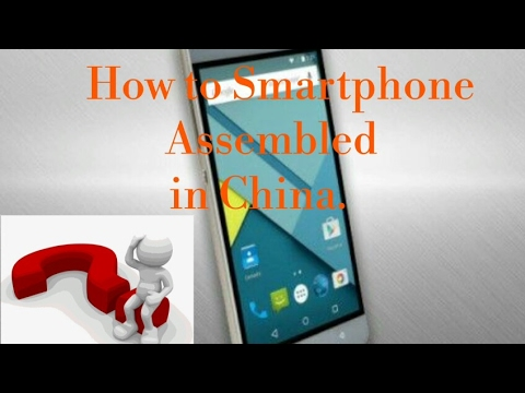 How to Smart Gadgets Assembled in china