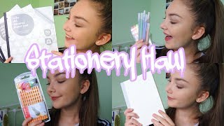 STATIONERY HAUL 2017| Floral Sophia