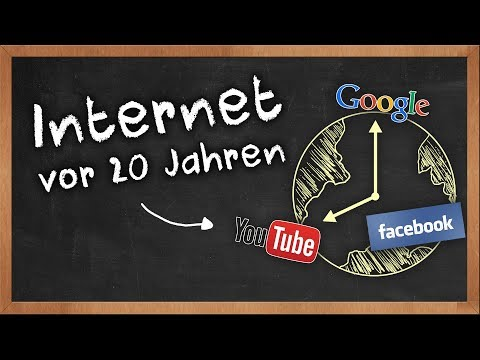 Internet vor 20 Jahren: So sah das Internet aus