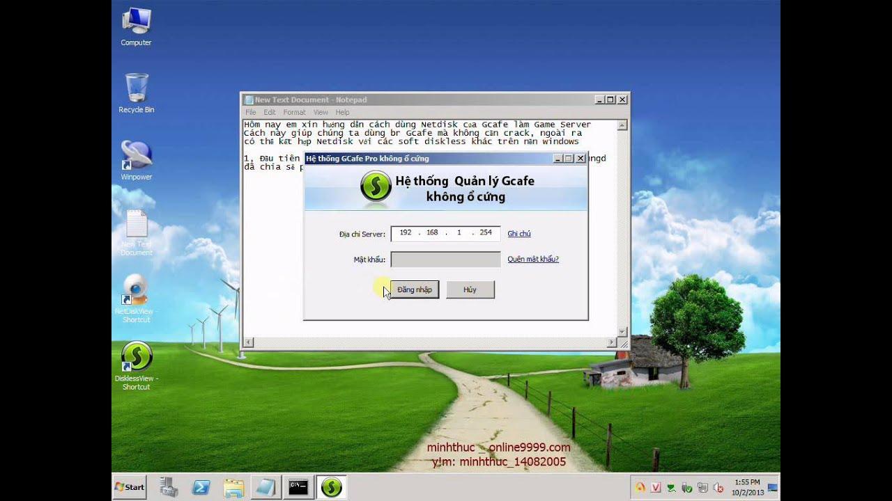 Cài đặt bootrom Gcafe không crack _ Phần 1 _ Server - Tổng Hợp Software