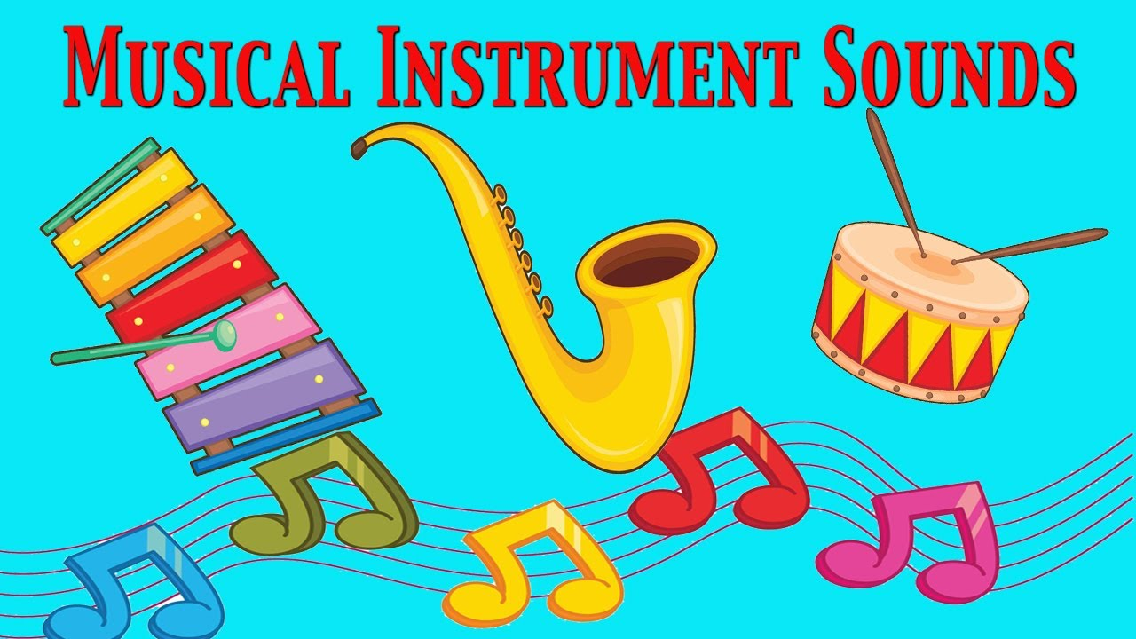 musical instruments sounds for kids ☆ part 2 ☆ learn - school