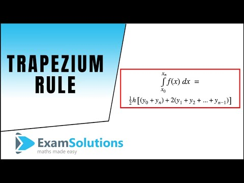 How to use the Trapezium Rule : ExamSolutions Maths Revision Tutorials