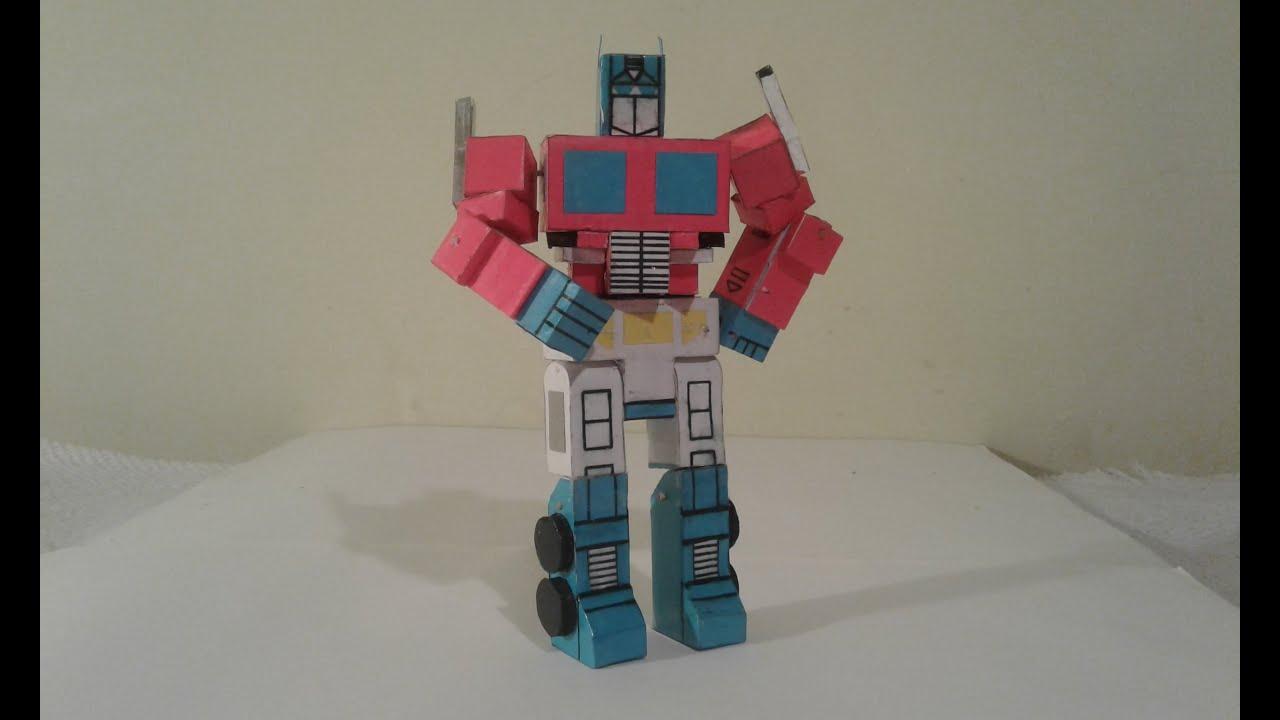 Papercraft Optimus Prime (VERSION 2)
