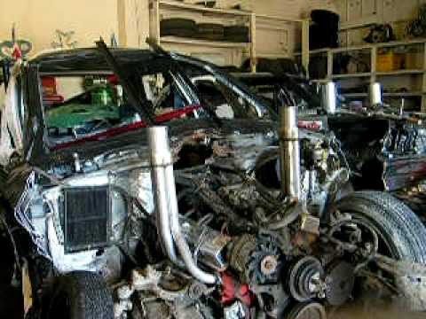 305ci Demolition Derby Engine Youtube