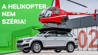 Egy nem rendelhető extra: KODIAQ helikopterrel