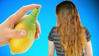 How to Bleach Your Hair With Lemon Juice