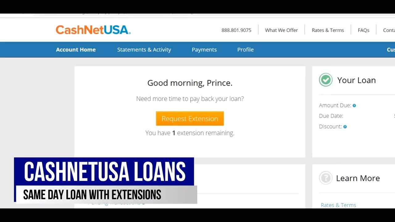 Cashnetusa Loan Promo Code Best Online Payday Loan How To Skip First Payday Promo Code Update Youtube