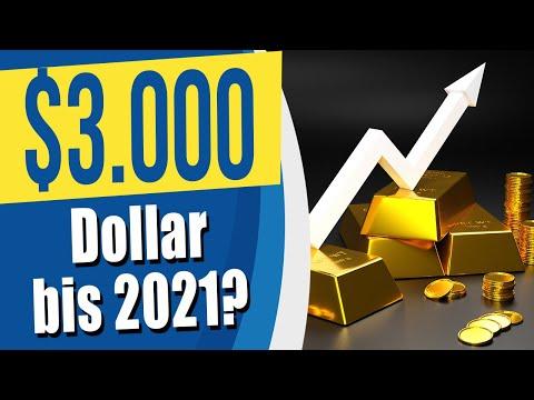 Gold: Kursziel 3.000 Dollar!