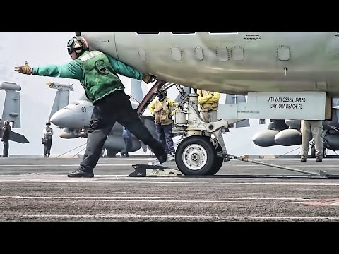 Aircraft Carrier Flight Deck Crew